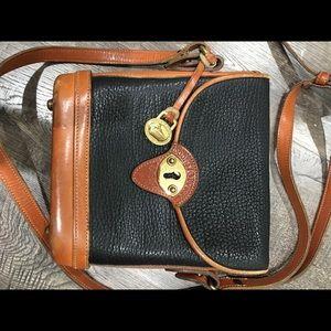 Dooney & Bourke crossbody Black and Tan purse